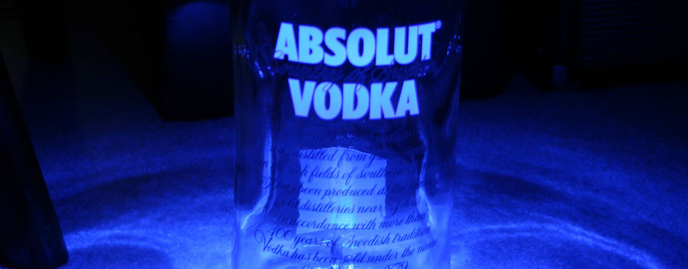 Absolut Vodka Lamp Featured